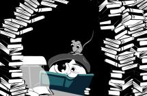 Stéréotype du doctorant: T'es un rat de bibliothèque !