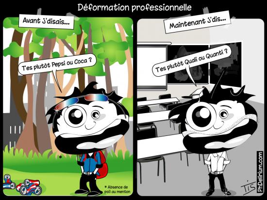 déformation professionnelle doctorat