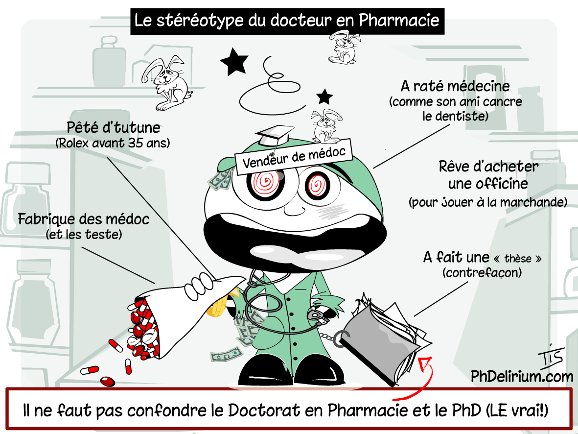Coup De Gueule Des PhD Pharma