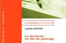 Promo du livre «Le doctorat : un rite de passage»