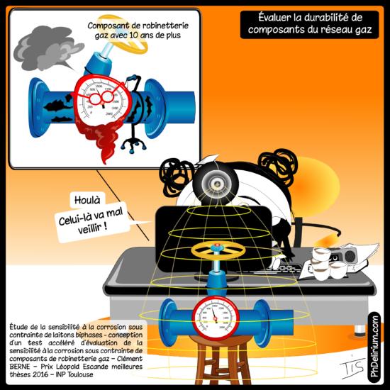 Thèse durabilité composants gaz