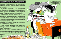 Testament d'un doctorant