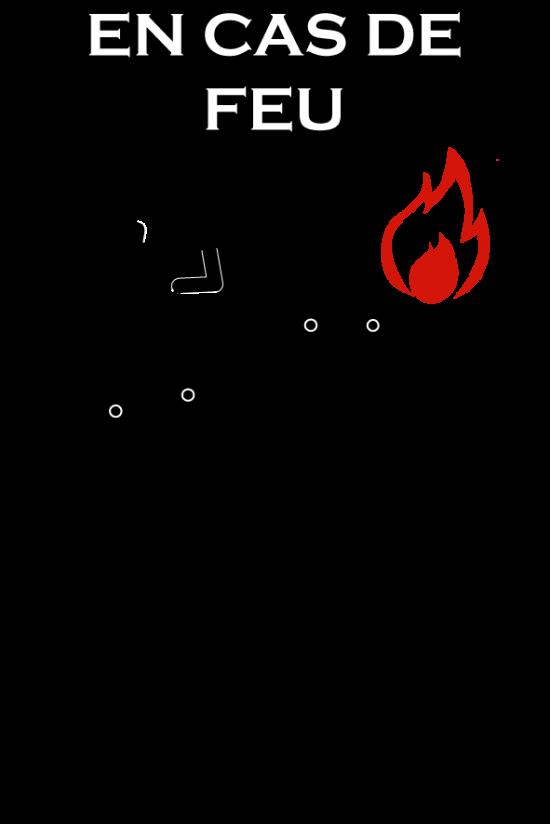 en cas d'incendie, doctorat, humour