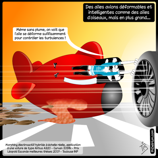 Thèse ailes d'avion déformables